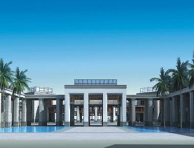 安徽党政机关新办公地块 - 朗石办公科技园景观