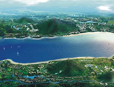 安徽国元黄金水岸 - 朗石景观规划