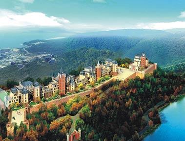 深圳华侨城天麓三区莱茵堡 - 朗石酒店会所景观