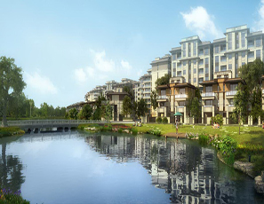 成都 中洲中央公园白鹭郡-朗石社区景观设计